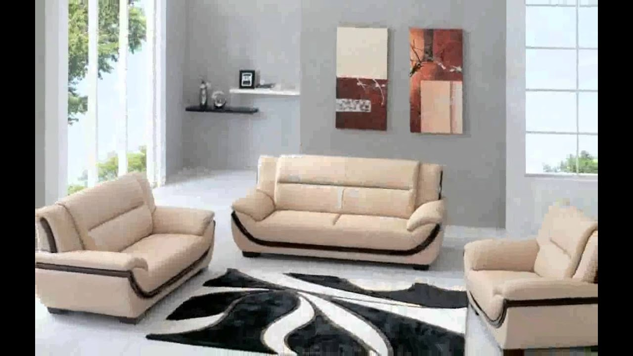 Trendy living room furniture
