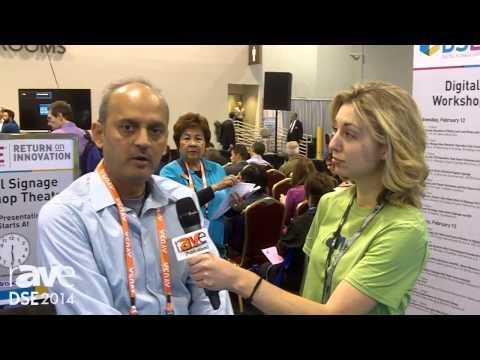 DSE 2014: Man on the Street with Melanie Johnson Interviews Katal