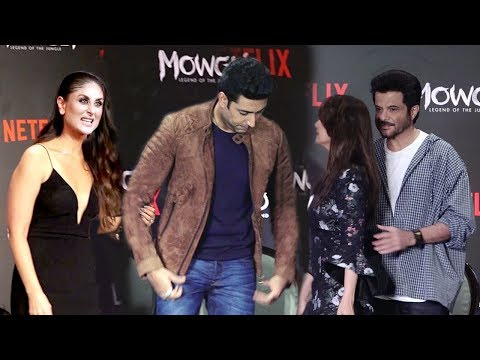 Kareena Kapoor,Abhishek Bachchan,Madhuri dixit,Anil Kapoor Visits Mowgli Netflix Premiere