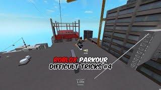 Roblox Parkour - Difficult Tricks #4