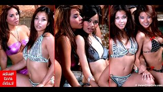Asian Diva Girls Pool Party