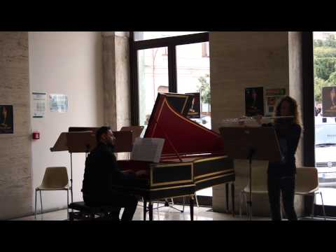 Bach in the subways Campobasso - flauto e clavicembalo