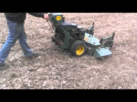 Bunton Hydrostatic Zero Turn Lawn Mower