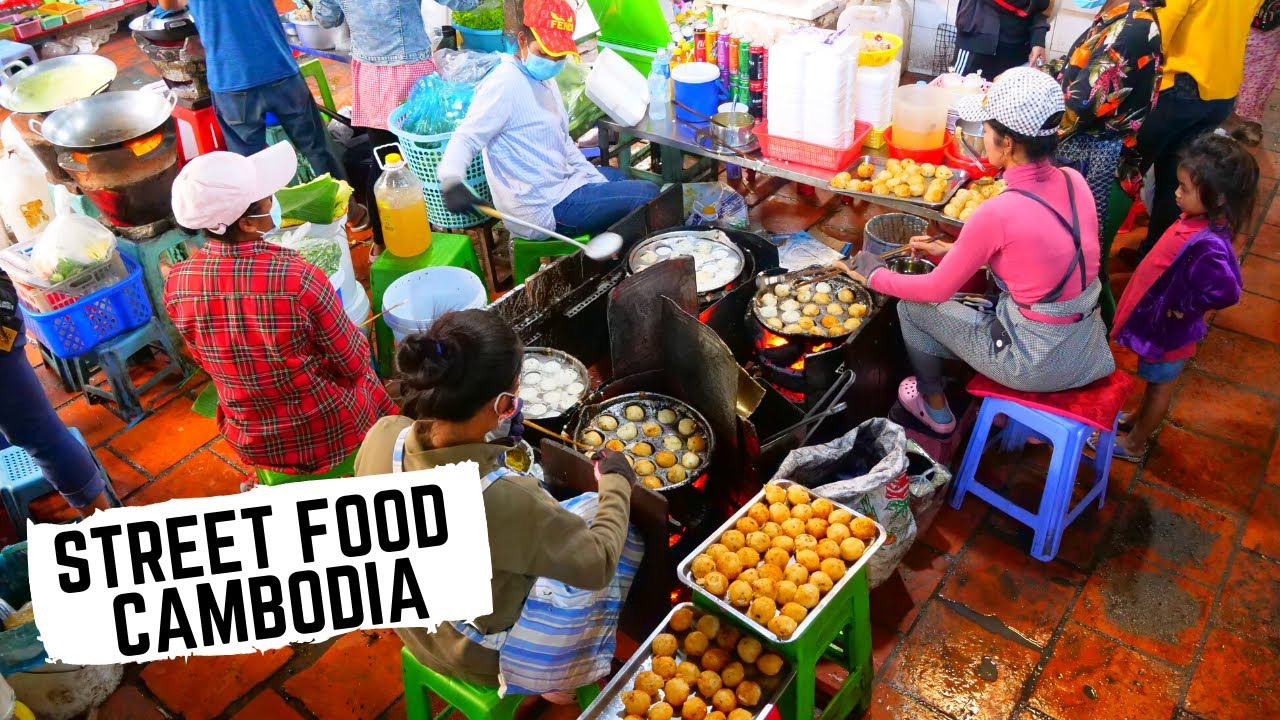 Asia's IGNORED street food | CAMBODIAN STREET FOOD |Ultimate Cambodian food tour Phnom Penh
