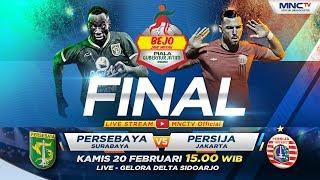 FULL FINAL!! PERSEBAYA VS PERSIJA  (FT: 4-1)- Bejo Jahe Merah Piala Gubernur Jatim 2020 thumbnail
