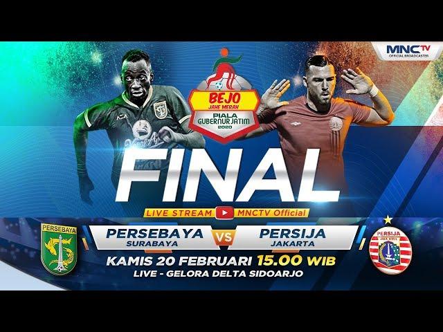 FULL FINAL!! PERSEBAYA VS PERSIJA  (FT: 4-1)- Bejo Jahe Merah Piala Gubernur Jatim 2020