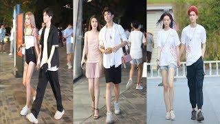 Những cặp đôi hot nhất phố đi bộ Trung Quốc P4