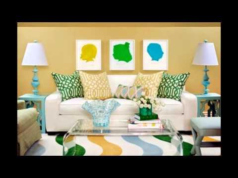 Nouvelles couleurs tendance pour salon youtube - Couleur pour living ...