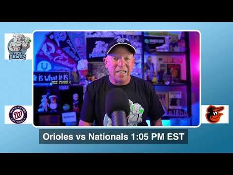 Baltimore Orioles vs Washington Nationals Free Pick 8/16/20 MLB Pick and Prediction MLB Tips