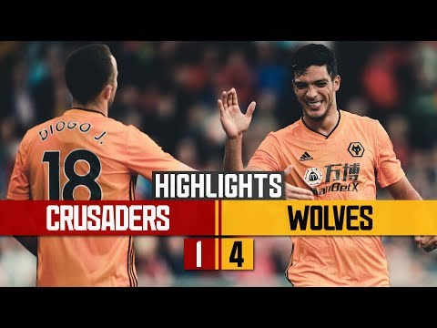 Raul Jimenez is back! Crusaders 1-4 Wolves | Highlights
