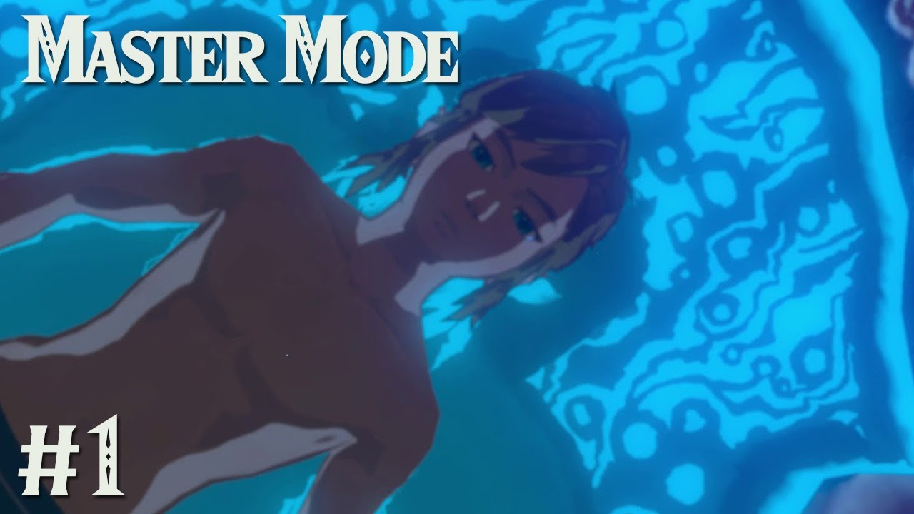 The Adventure Begins Again Zelda Botw Master Mode 1