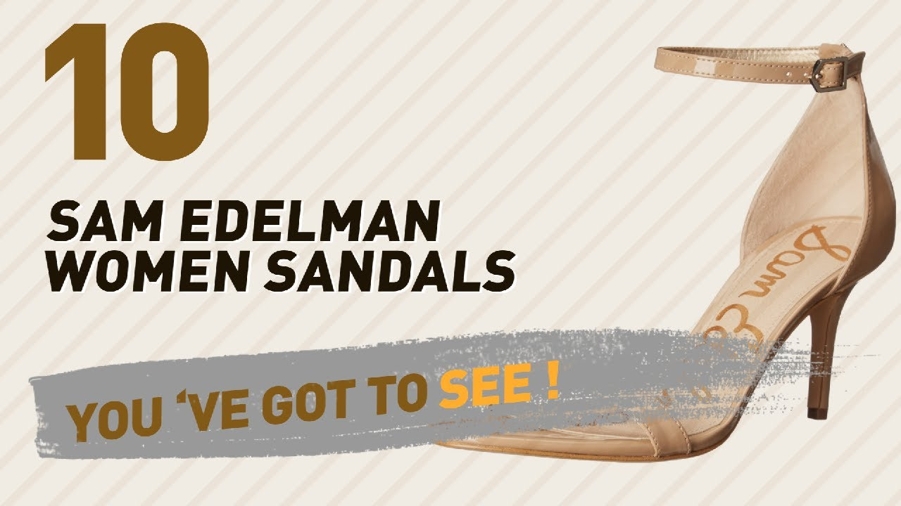 2680c845b Sam Edelman Women Sandals    New   Popular 2017 - YouTube