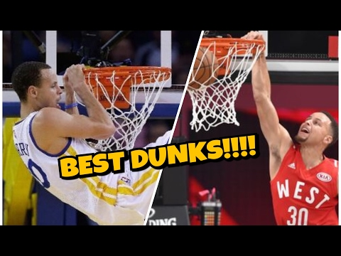 STEPHEN CURRY BEST DUNKS!!!
