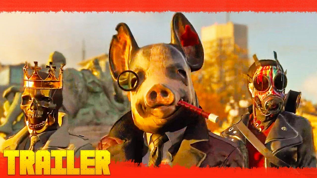 Watch Dogs Legion (2020) Juego Tráiler Oficial Español