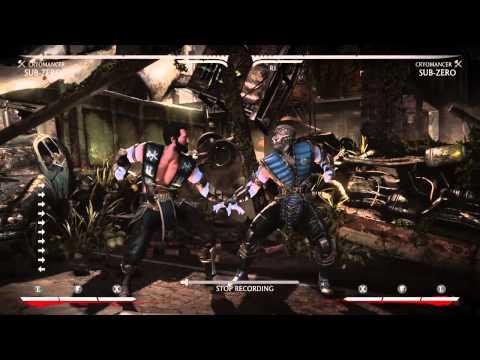 Sub-Zero Combos - Mortal Kombat X | Combo Network