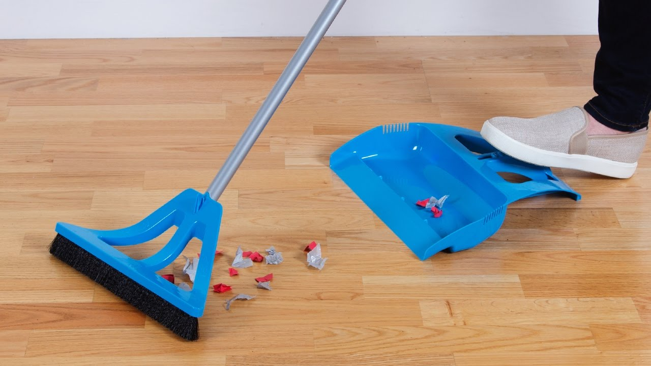 A Whole New Take On The Dustpan And Broom Youtube