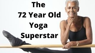 The 72-Year-Old Yoga Star