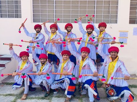 Folk Dance West Zone Winners..Gujarat Technological University 2017