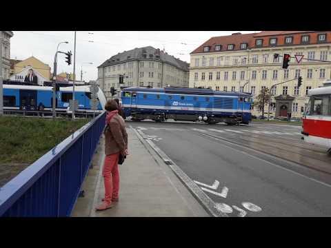 Vlak na Poříčí, Brno