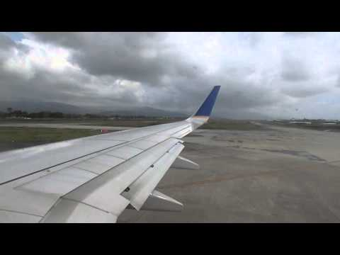 Copa Airlines B737-800 PTY - SJO Takeoff (Biomuseo)