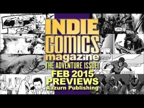 Indie Comics Magazine: The Adventure Issue video preview ...