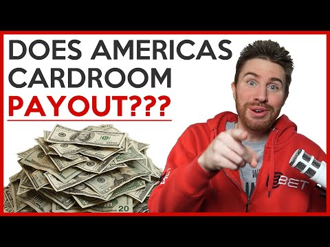 Americas Cardroom Poker | Do They Payout? Or Is It A Scam? | WITHDRAW PROOF
