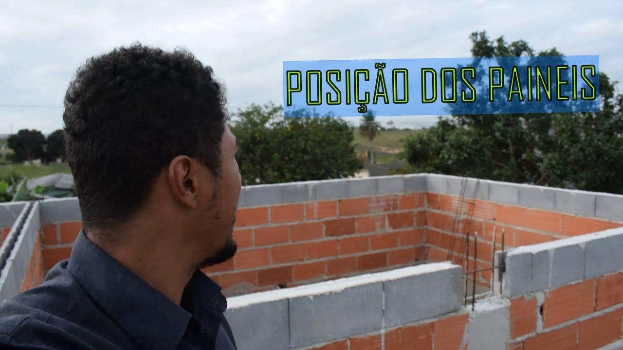 POSIÇÃO CORRETA PARA OS PAINÉIS SOLARES