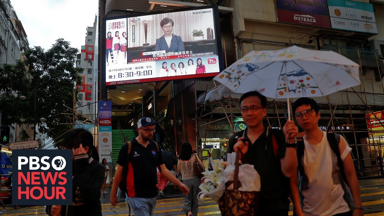 Will withdrawal of extradition bill end Hong Kong protests?
