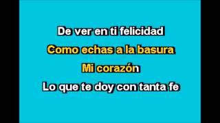 Basta Ya - Jenni Rivera; Karaoke (Tono Bajo)