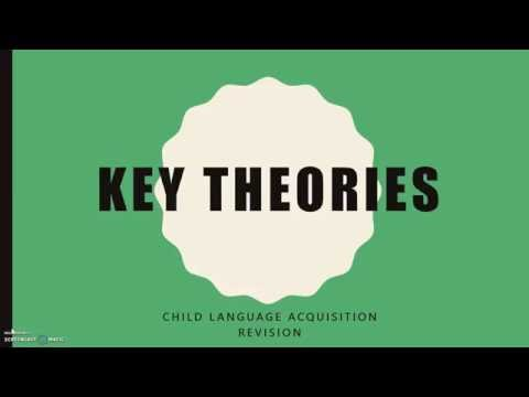 CHILD LANGUAGE ACQUISITION: Key Theories