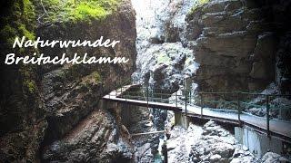 Breitachklamm Oberstdorf - einzigartiges Naturwunder, Kleinwalsertal, Allgäu