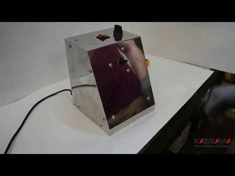Assembly: Chocolate coating machine/Дражировочный барабан