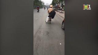 Chiến sĩ CSGT số 3 - CATP Hà Nội giúp đỡ cụ già bị lạc đường trở về nhà an toàn | Gương chiến sĩ 141