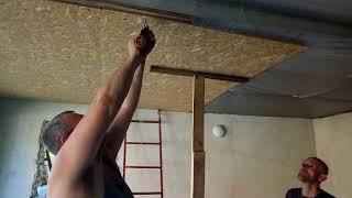 як зробити стелю з металевих панелей