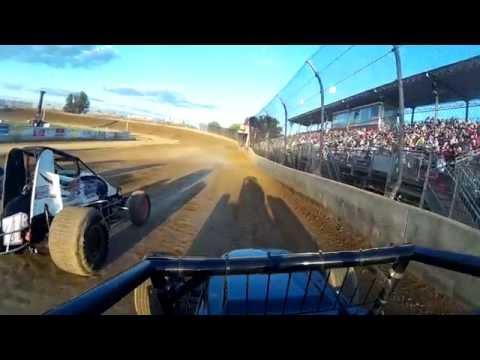 Carmen Perigo Jr. Lawrenceburg Speedway 9-3-16 Heat Race