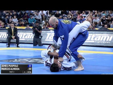 """Marcus """"Buchecha"""" Almeida VS James Puopolo / World Championship 2016"""