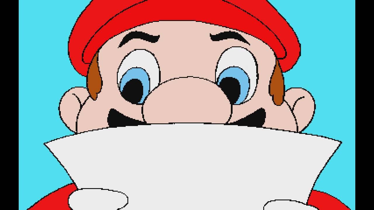 Hotel Mario Intro Remastered 1440p Hd Youtube