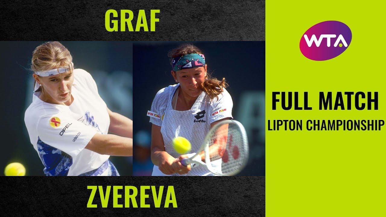 Stefanie Graf vs. Natasha Zvereva | Full Match | 1994 Lipton Championship Final