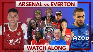 Arsenal vs Everton | Watch Along Live