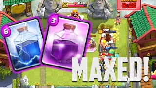 Clash Royale - Gemming to Max #17 - More MAXED Epics!