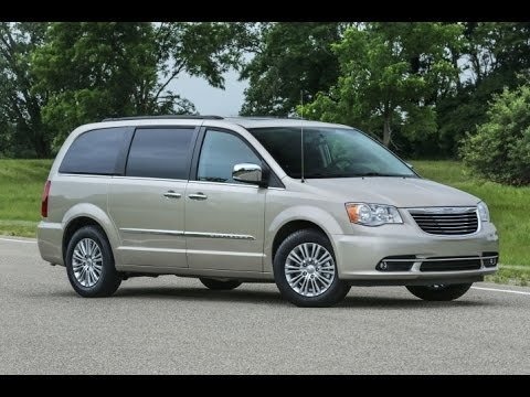 2016 Chrysler Town And Country Start Up Review 3 6 L V6