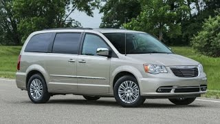 2016 Chrysler Town and Country Start Up and Review 3.6 L V6