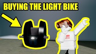 BUYING the 5 MILLION LIGHT BIKE | Roblox Mad City