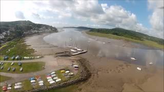 DJI 450 Quadcopter FPV Kippford Dumfries & Galloway Scotland GoPro Hero 2 HD CopterControl