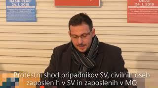 Poziv zaposlenim v SV in MO na protestni shod 24 januarja