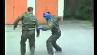 Система рукопашного боя для улицы. ( версия )(Спецназ ГРУ система рукопашного боя для улицы. (с эффектом замедления времени), 2014-06-09T12:30:54.000Z)