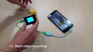 How to  connect SJ4000 Action Camera with Android Phone