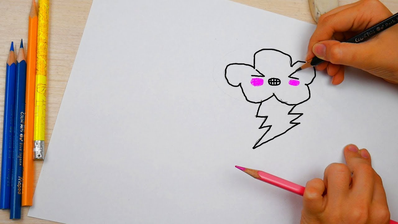 красивые картинки за 5 минут нарисовать шепчут розы утру
