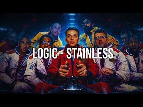 Logic - Stainless (Lyrics) 1080p