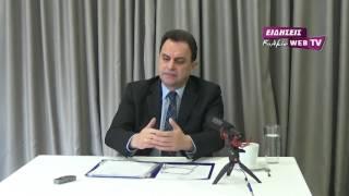 Συνέντευξη Γ. Γεωργαντά στα ΜΜΕ του ν. Κιλκίς-Eidisis.gr webTV